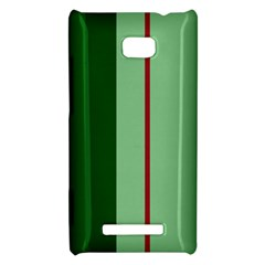 Green and red design HTC 8X