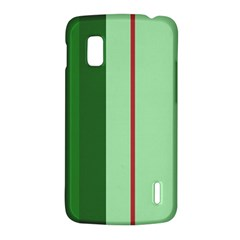 Green and red design LG Nexus 4