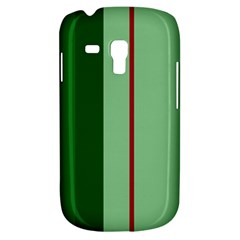 Green and red design Samsung Galaxy S3 MINI I8190 Hardshell Case