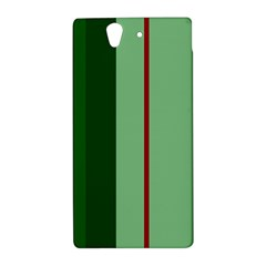 Green and red design Sony Xperia Z