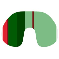 Green and red design Travel Neck Pillows