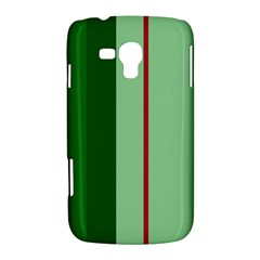 Green and red design Samsung Galaxy Duos I8262 Hardshell Case