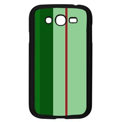 Green and red design Samsung Galaxy Grand DUOS I9082 Case (Black)