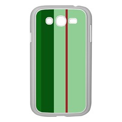 Green and red design Samsung Galaxy Grand DUOS I9082 Case (White)