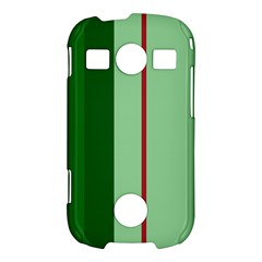 Green and red design Samsung Galaxy S7710 Xcover 2 Hardshell Case