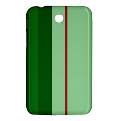 Green and red design Samsung Galaxy Tab 3 (7 ) P3200 Hardshell Case