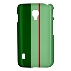 Green and red design LG Optimus L7 II