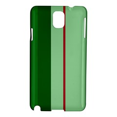 Green and red design Samsung Galaxy Note 3 N9005 Hardshell Case