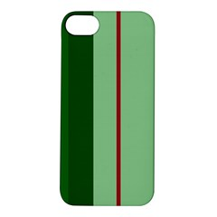 Green and red design Apple iPhone 5S/ SE Hardshell Case