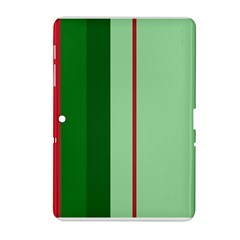 Green and red design Samsung Galaxy Tab 2 (10.1 ) P5100 Hardshell Case