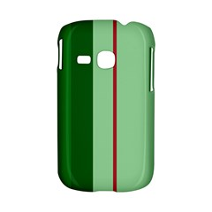 Green and red design Samsung Galaxy S6310 Hardshell Case
