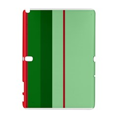 Green and red design Samsung Galaxy Note 10.1 (P600) Hardshell Case