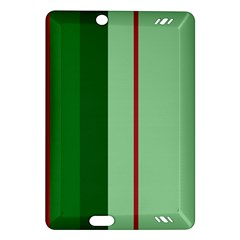 Green and red design Amazon Kindle Fire HD (2013) Hardshell Case