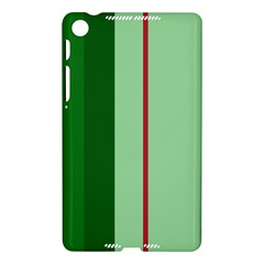 Green and red design Nexus 7 (2013)