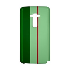 Green and red design LG G Flex