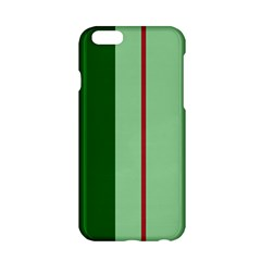 Green and red design Apple iPhone 6/6S Hardshell Case