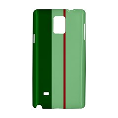 Green and red design Samsung Galaxy Note 4 Hardshell Case