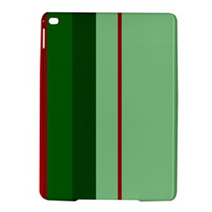 Green and red design iPad Air 2 Hardshell Cases