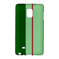 Green and red design Galaxy Note Edge