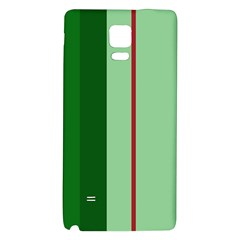 Green and red design Galaxy Note 4 Back Case