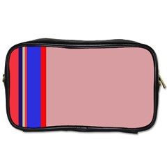 Pink elegant lines Toiletries Bags 2-Side
