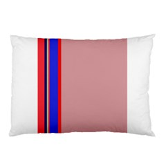 Pink elegant lines Pillow Case (Two Sides)