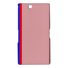 Pink elegant lines Sony Xperia Z Ultra