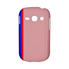 Pink elegant lines Samsung Galaxy S6810 Hardshell Case