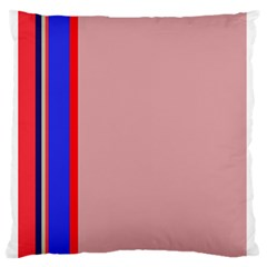 Pink elegant lines Standard Flano Cushion Case (Two Sides)