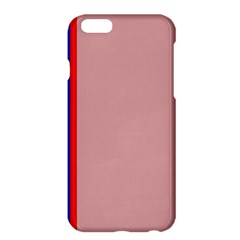 Pink elegant lines Apple iPhone 6 Plus/6S Plus Hardshell Case