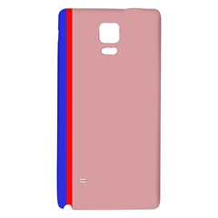 Pink elegant lines Galaxy Note 4 Back Case