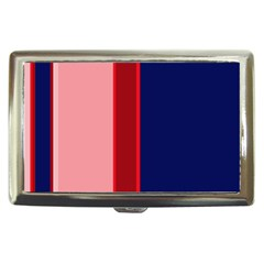 Pink and blue lines Cigarette Money Cases