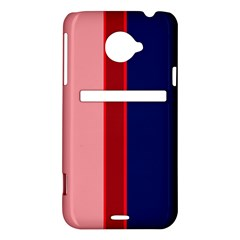 Pink and blue lines HTC Evo 4G LTE Hardshell Case