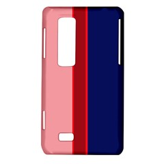 Pink and blue lines LG Optimus Thrill 4G P925