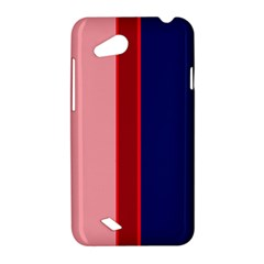 Pink and blue lines HTC Desire VC (T328D) Hardshell Case