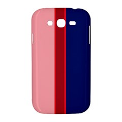 Pink and blue lines Samsung Galaxy Grand DUOS I9082 Hardshell Case