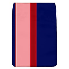 Pink and blue lines Flap Covers (L)