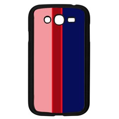 Pink and blue lines Samsung Galaxy Grand DUOS I9082 Case (Black)