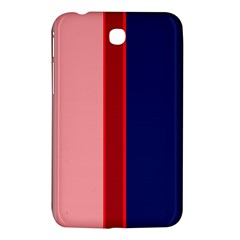 Pink and blue lines Samsung Galaxy Tab 3 (7 ) P3200 Hardshell Case