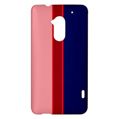 Pink and blue lines HTC One Max (T6) Hardshell Case