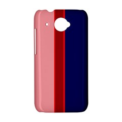 Pink and blue lines HTC Desire 601 Hardshell Case