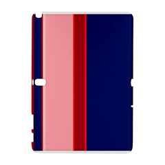 Pink and blue lines Samsung Galaxy Note 10.1 (P600) Hardshell Case