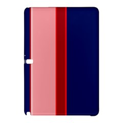 Pink and blue lines Samsung Galaxy Tab Pro 10.1 Hardshell Case