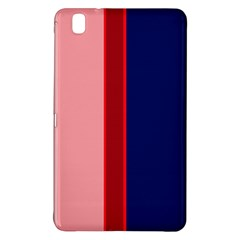 Pink and blue lines Samsung Galaxy Tab Pro 8.4 Hardshell Case