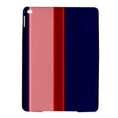 Pink and blue lines iPad Air 2 Hardshell Cases