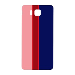 Pink and blue lines Samsung Galaxy Alpha Hardshell Back Case