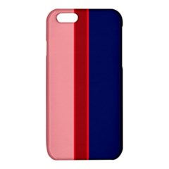 Pink and blue lines iPhone 6/6S TPU Case