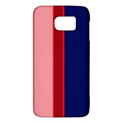 Pink and blue lines Galaxy S6