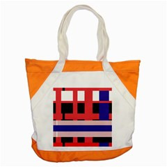 Red abstraction Accent Tote Bag