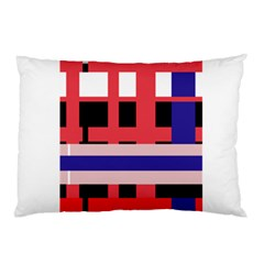 Red abstraction Pillow Case